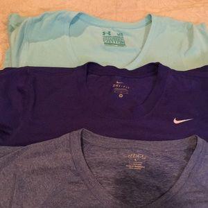Dri fit workout shirts